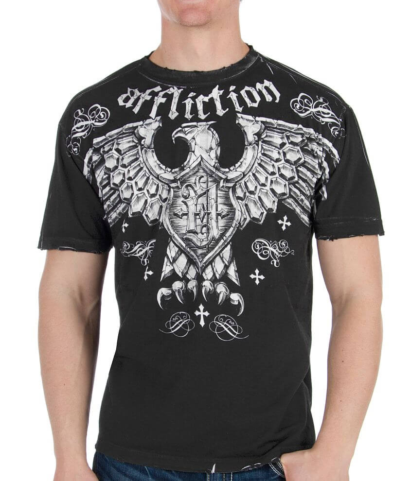 Affliction Full Rotation Reversible T-Shirt front view