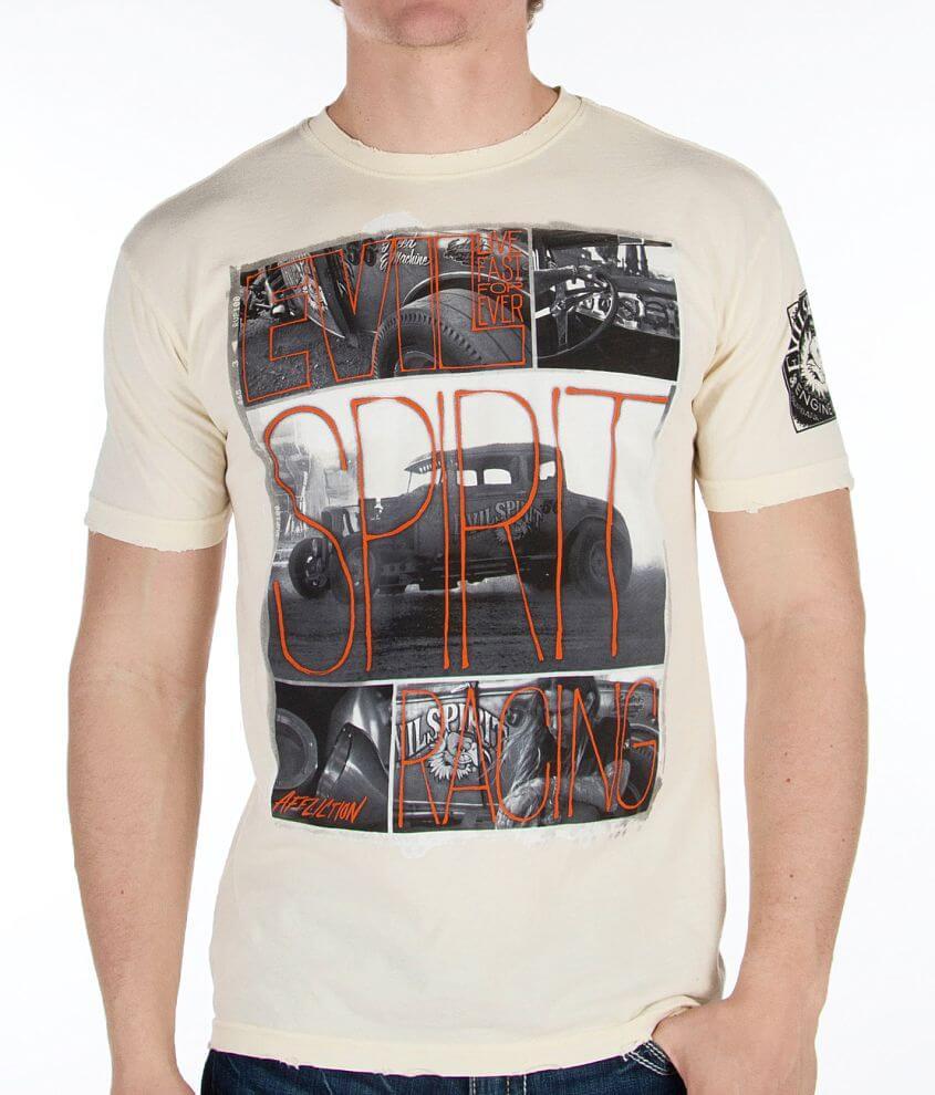 Affliction Evil Spirit Burbank T-Shirt front view