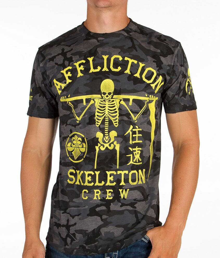 Affliction Skeleton Crew T-Shirt front view