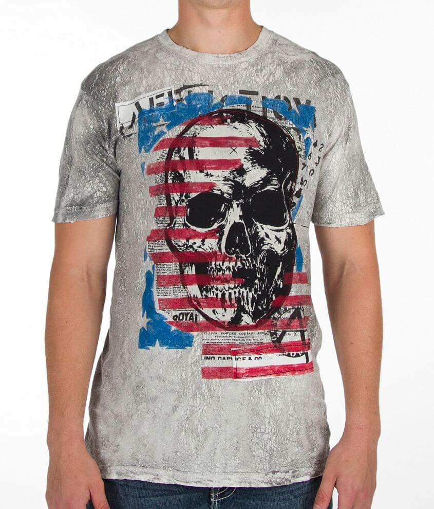 Affliction American Chaos Generation T-Shirt front view