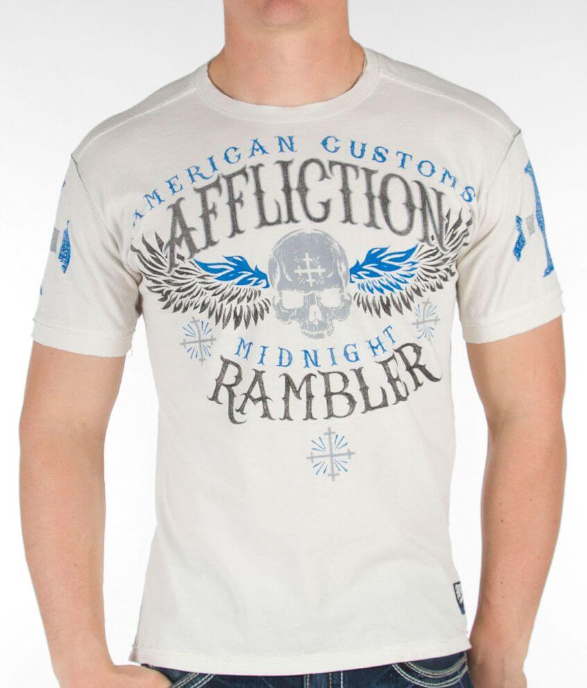 Affliction Midnight Rambler T-Shirt front view