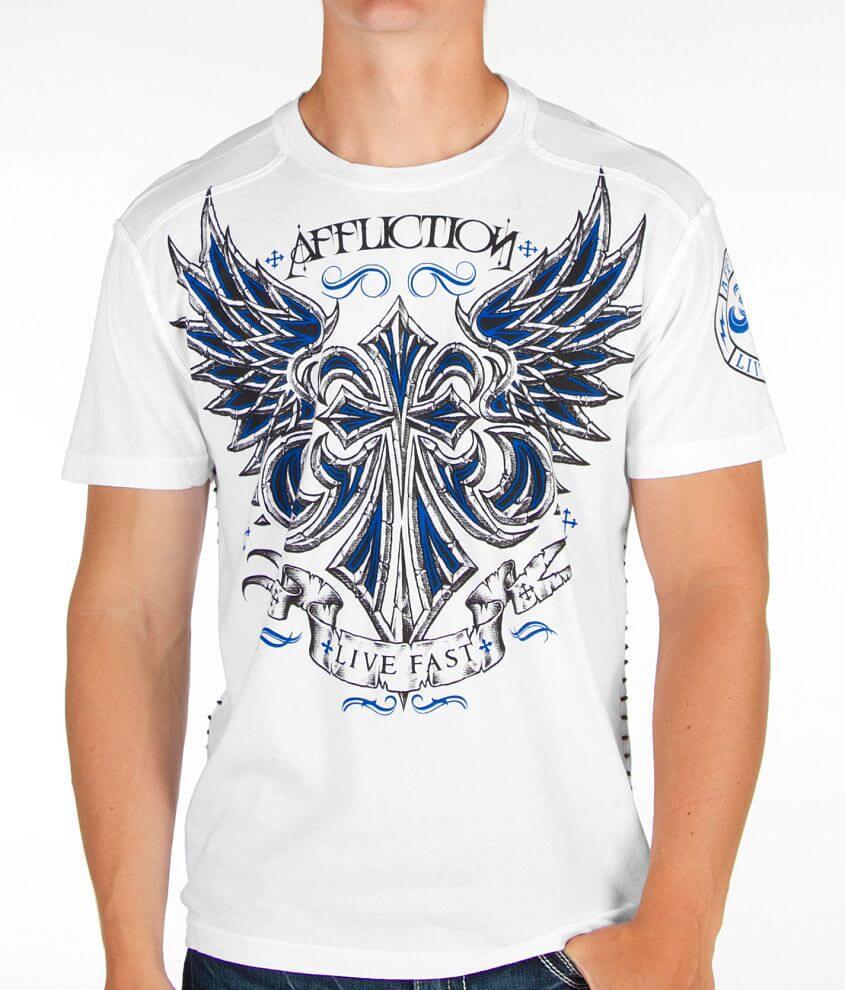 Affliction Vibration T-Shirt front view