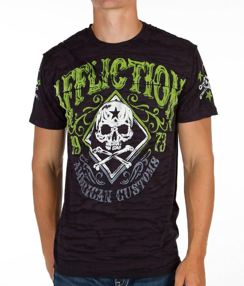 Affliction American Customs Bourbon T-Shirt front view