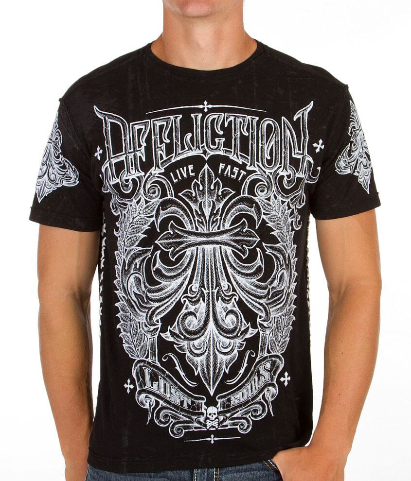 Affliction Corroded T-Shirt front view