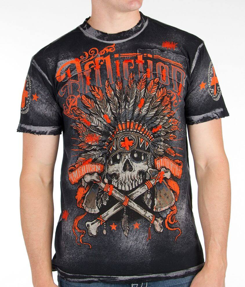 Affliction Tomahawk T-Shirt front view