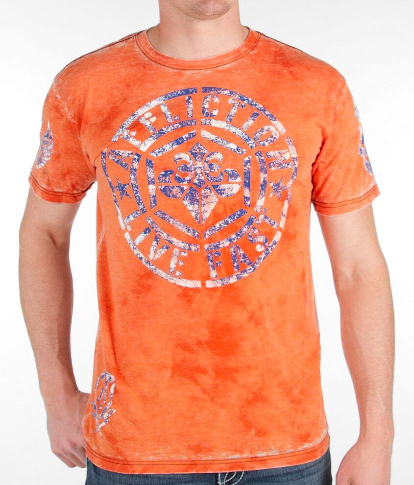 Affliction Phaser T-Shirt front view