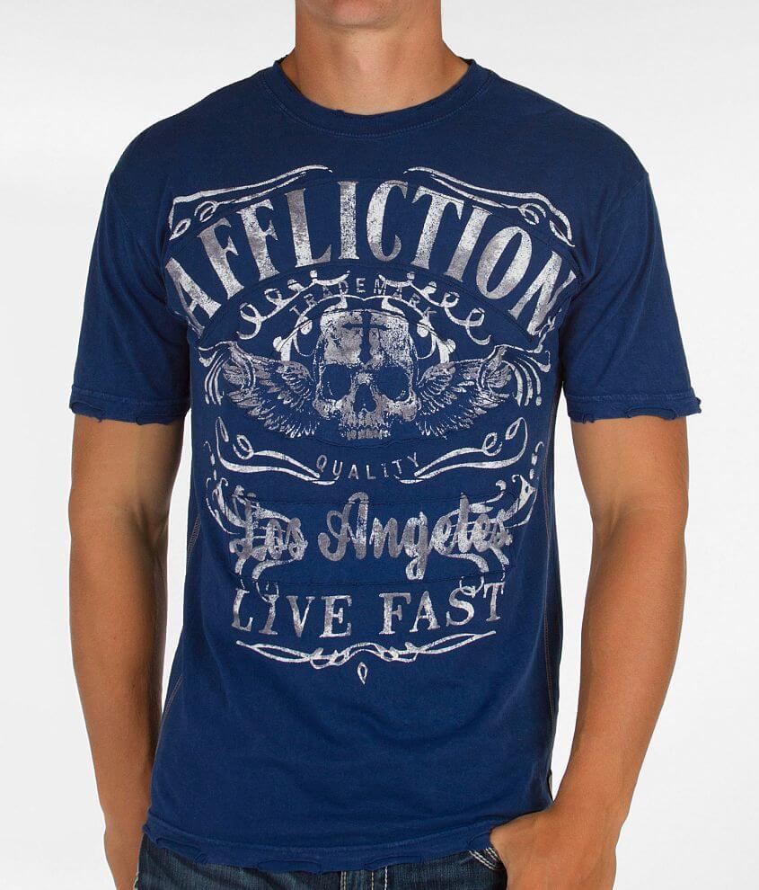 Affliction American Customs Davey Jones T-Shirt front view