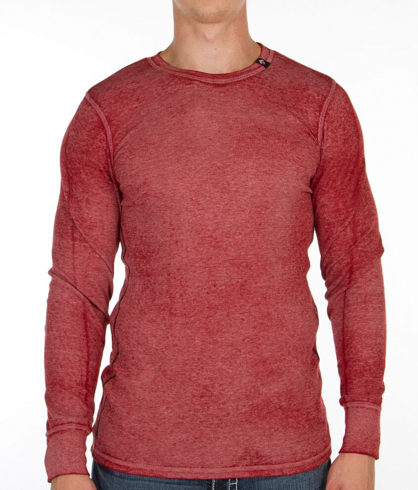 Affliction Standard Press Thermal Shirt front view