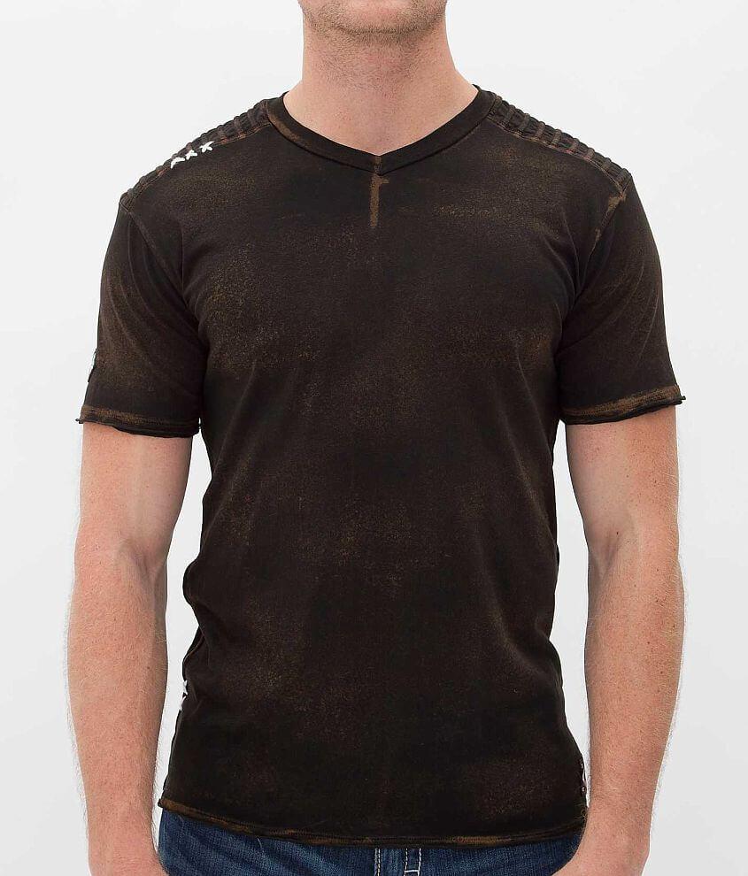 Affliction Squadron Tech T-Shirt front view