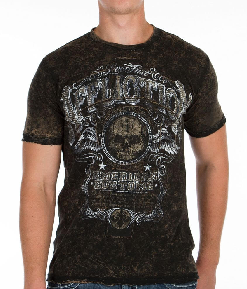 Affliction American Customs Kentucky Rye T-Shirt front view