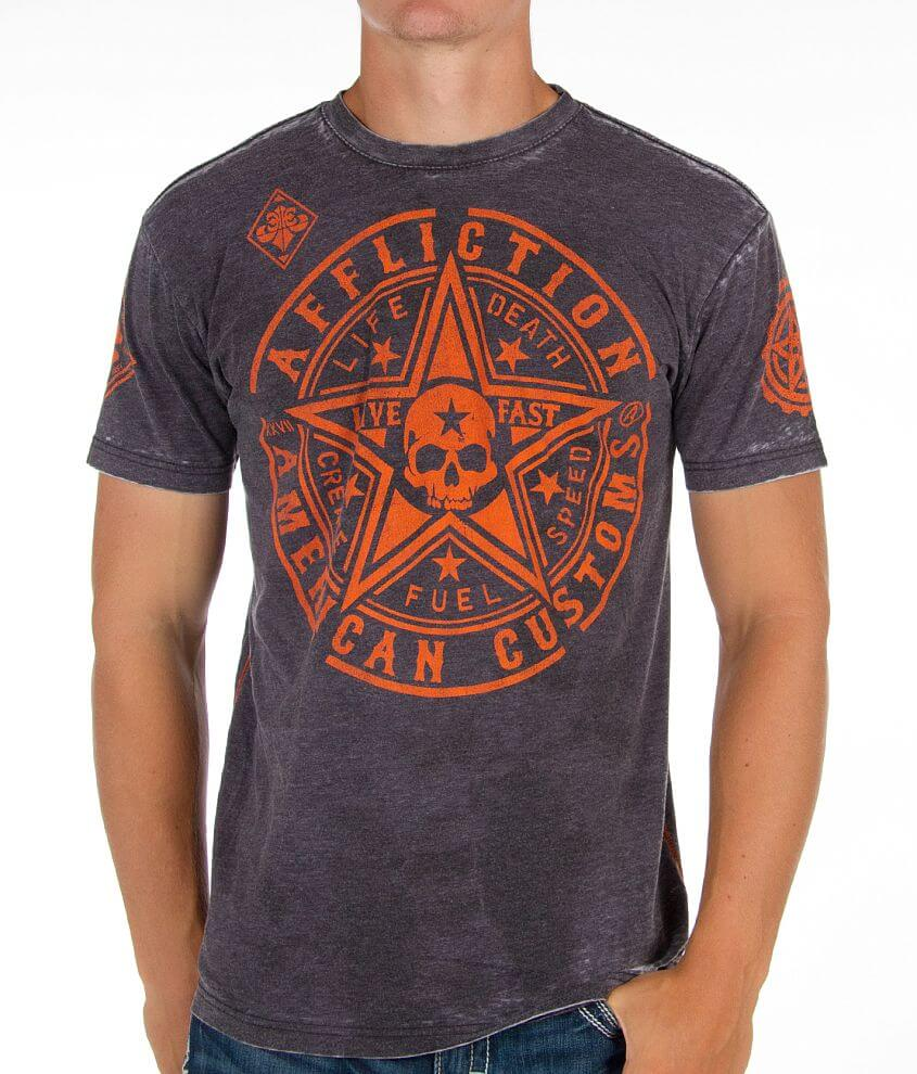 Affliction American Customs 73 Special T-Shirt front view