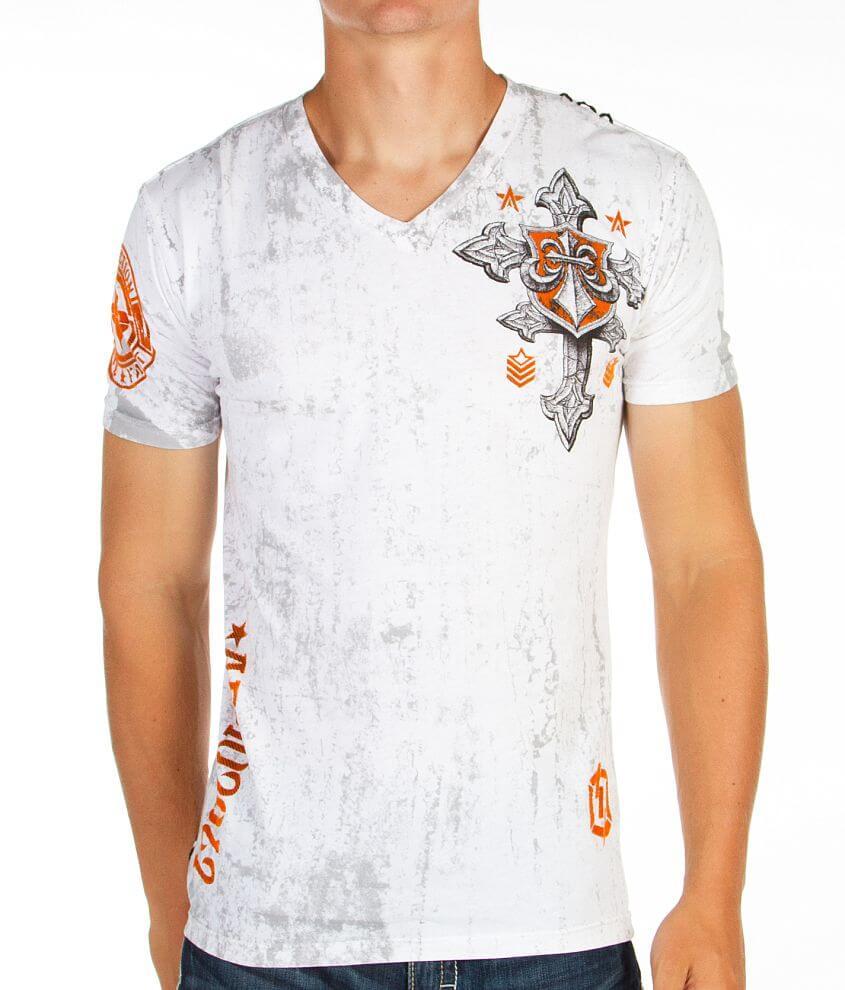 Affliction Return T-Shirt front view