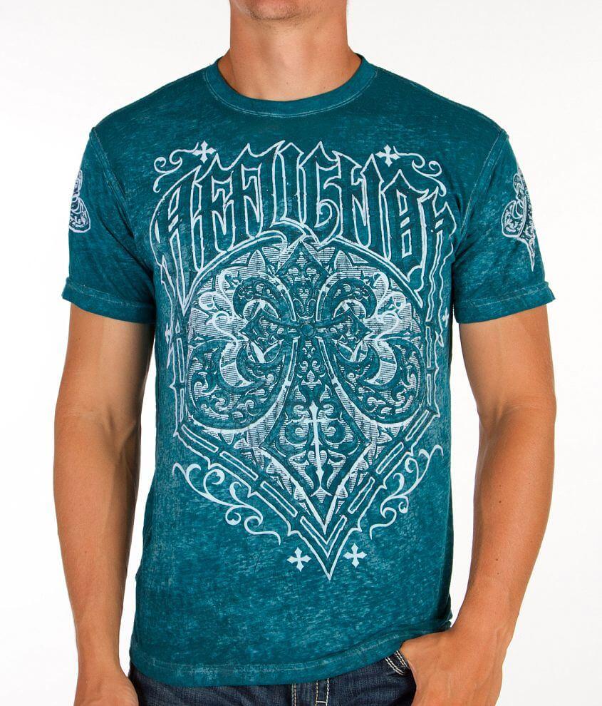 Affliction Brewski T-Shirt front view