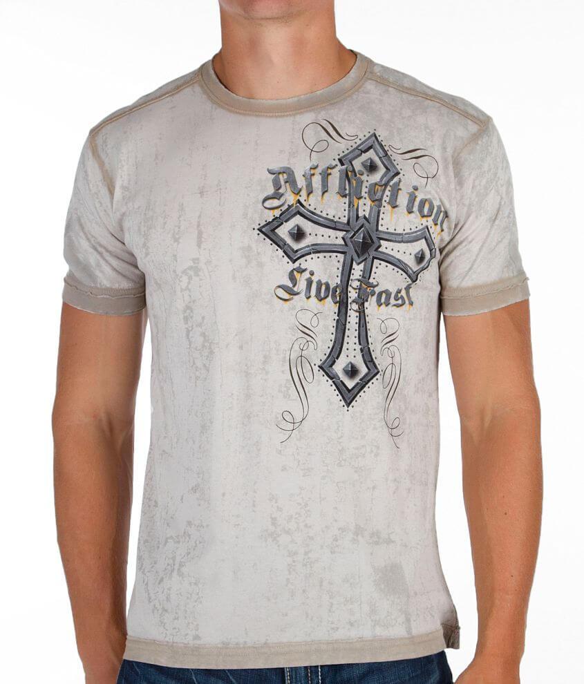 Affliction Dissolve T-Shirt front view