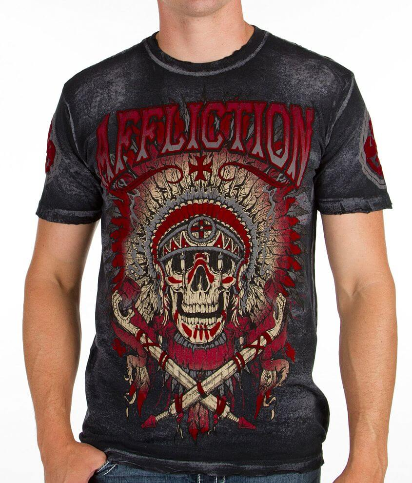 Affliction Guardian Warrior T-Shirt front view
