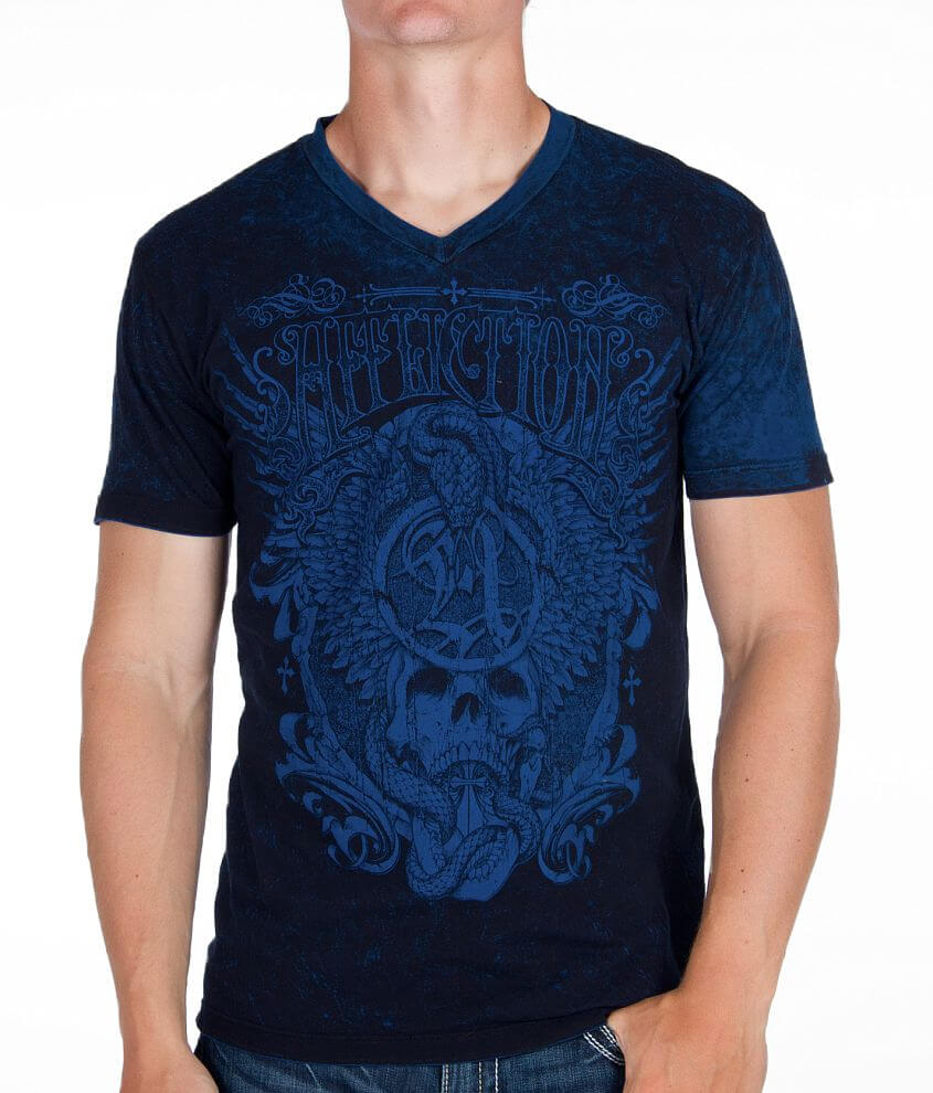 Affliction Grindhouse Reversible T-Shirt front view