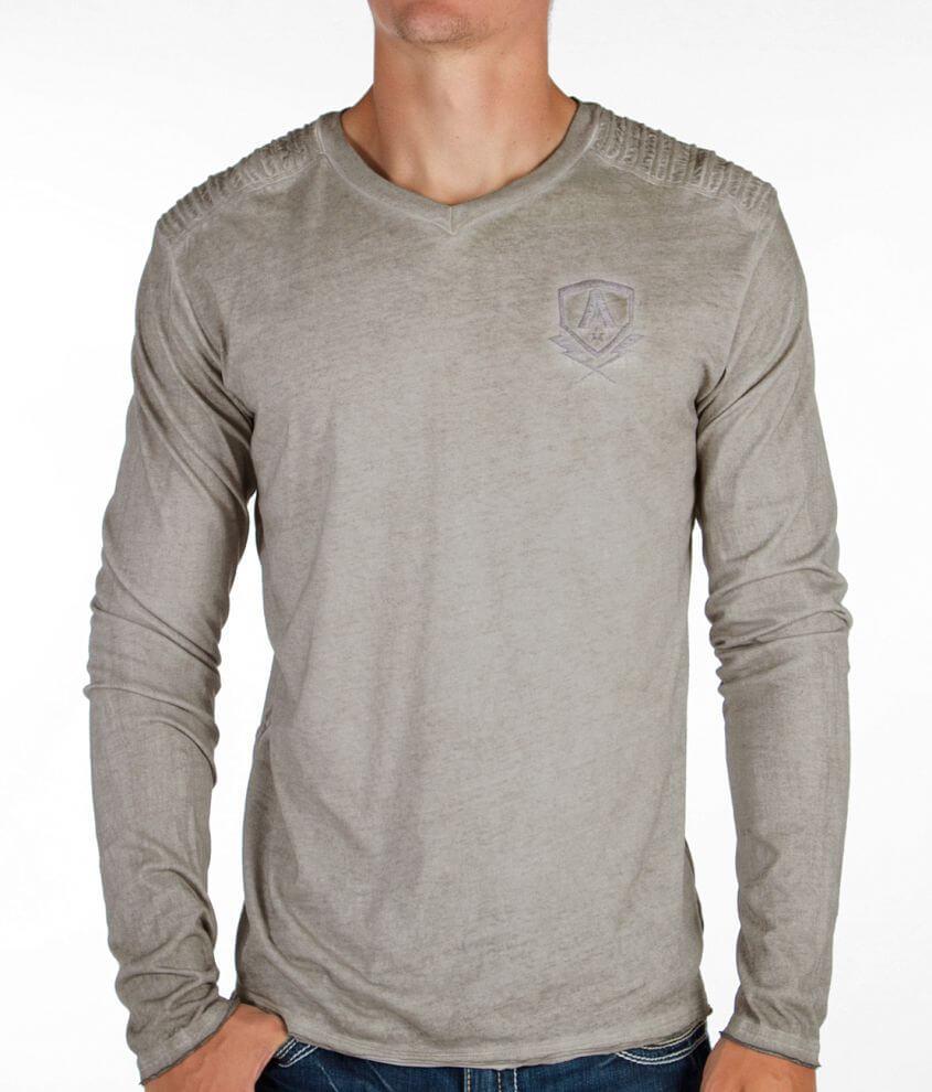 Affliction Standard Elite V-Neck T-Shirt front view