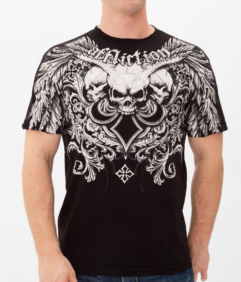 Affliction Demon Hunter T-Shirt front view