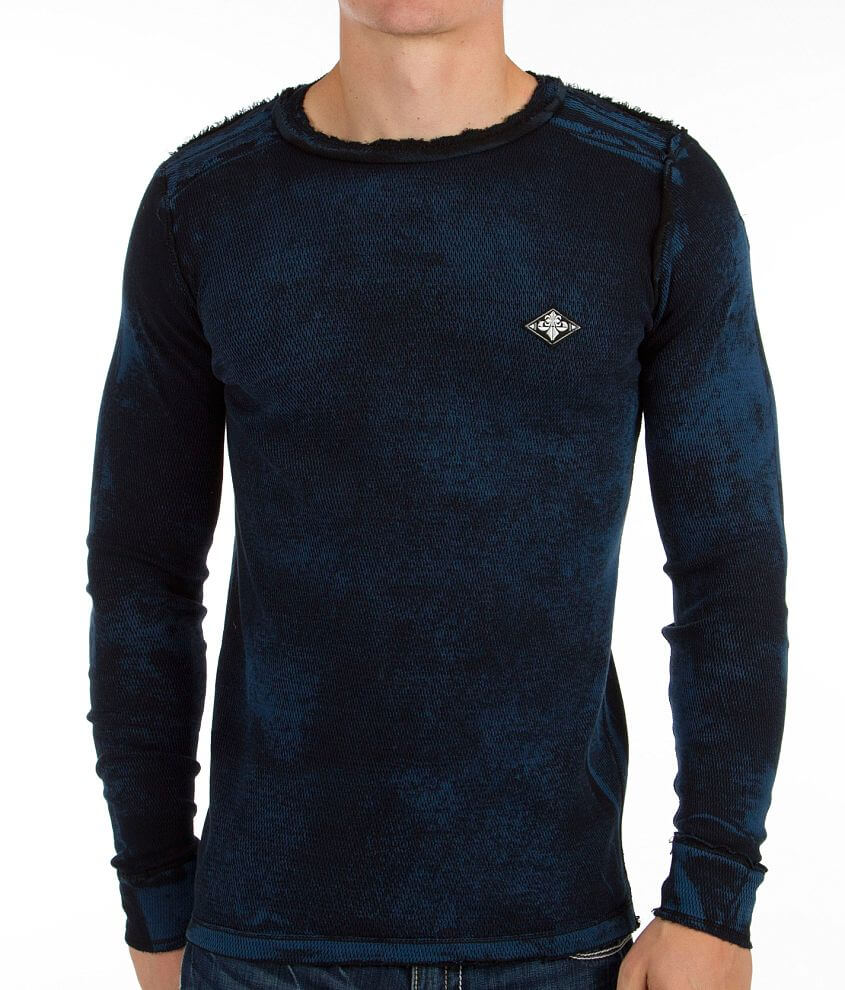 Affliction Standard Make Reversible Thermal Shirt front view