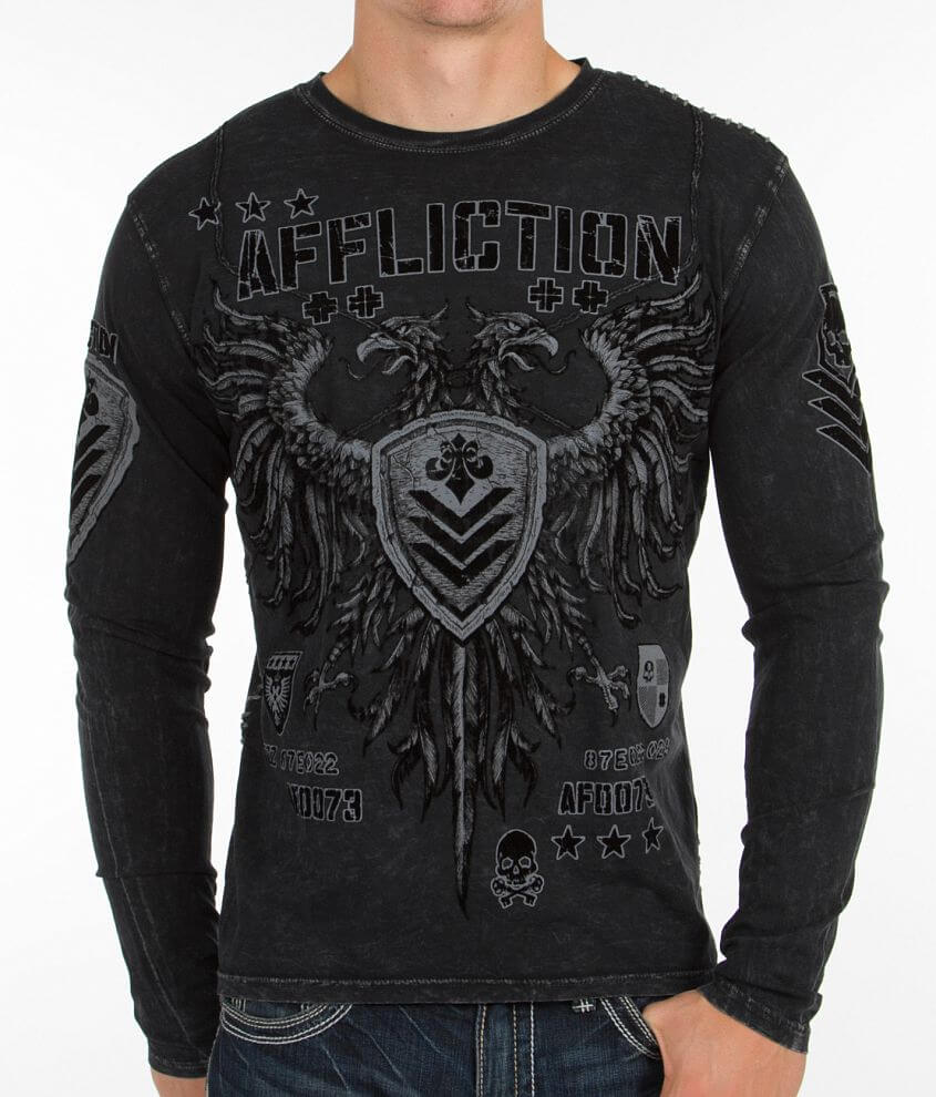 Affliction Value T-Shirt front view