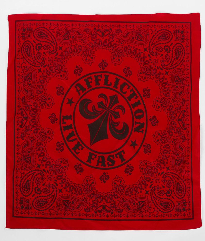 Affliction Pure Bandana front view