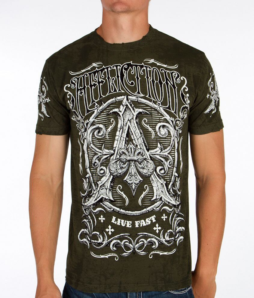Affliction Caustic T-Shirt front view
