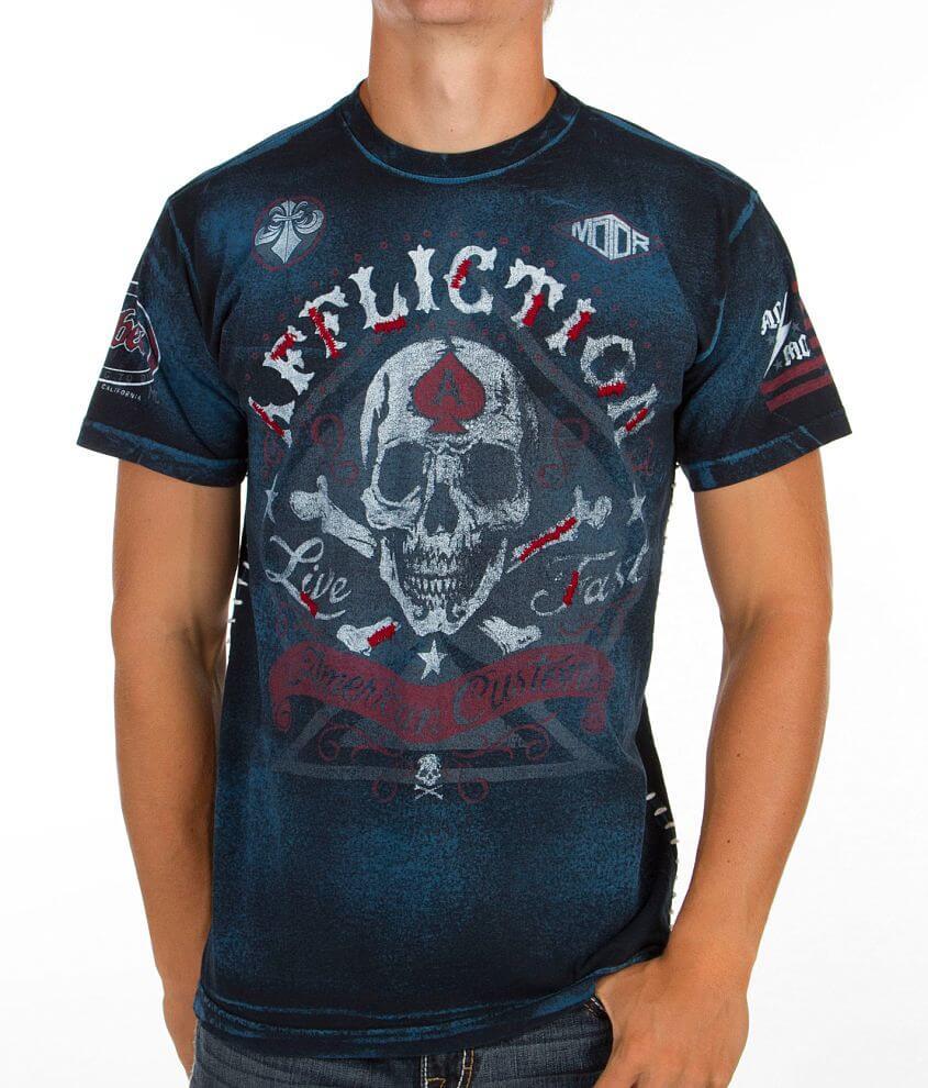 Affliction Appomattox T-Shirt front view