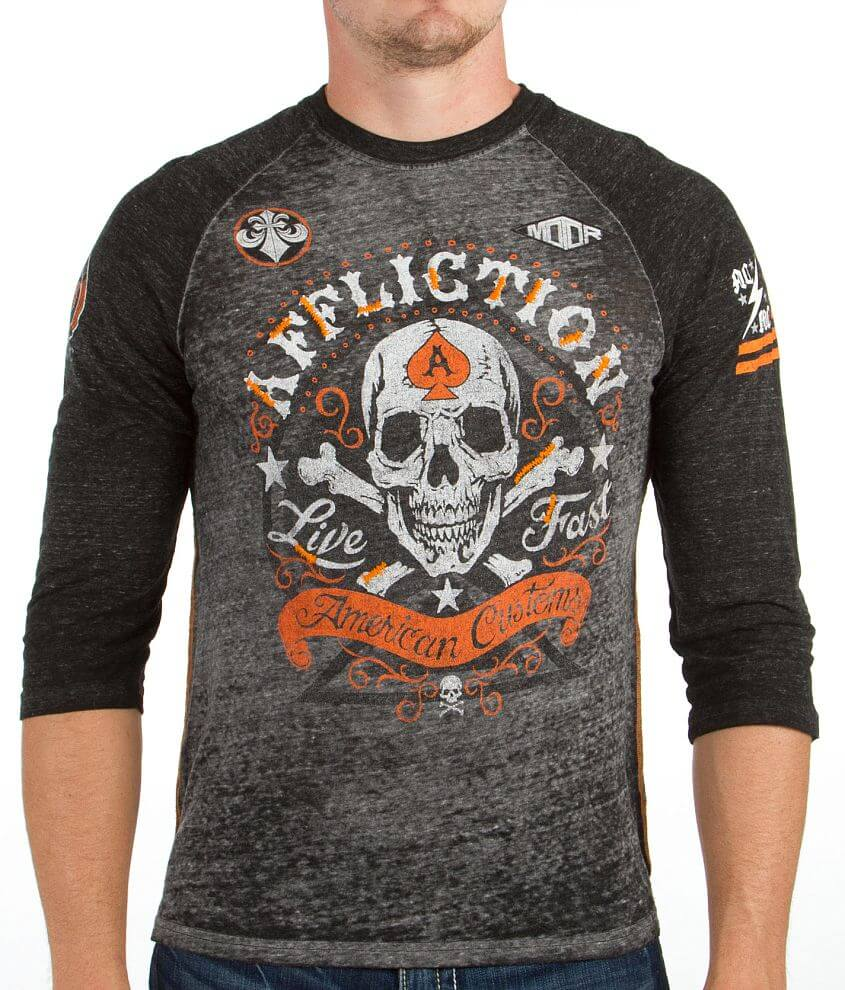Affliction American Customs Appomattox T-Shirt front view