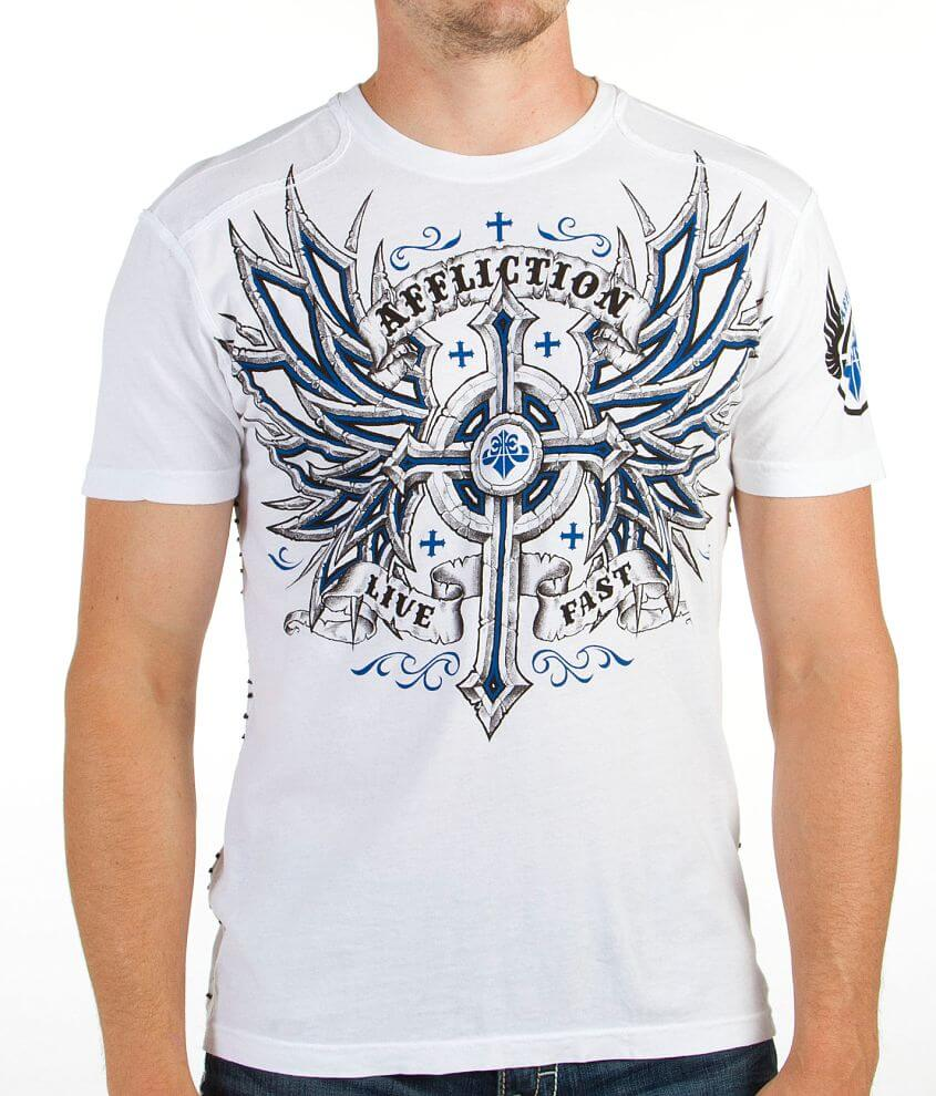 Affliction Microbial T-Shirt front view