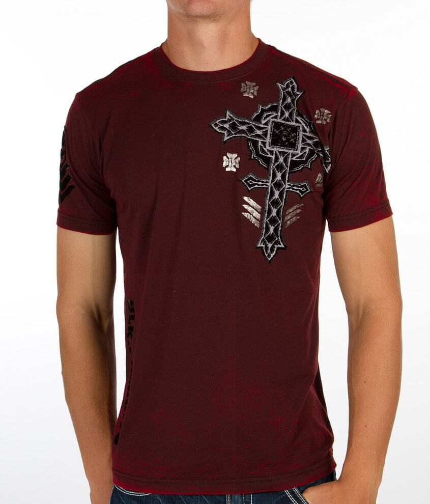 Affliction Stand Alone T-Shirt front view