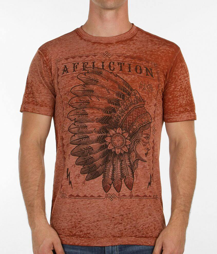 Affliction Seneca T-Shirt front view