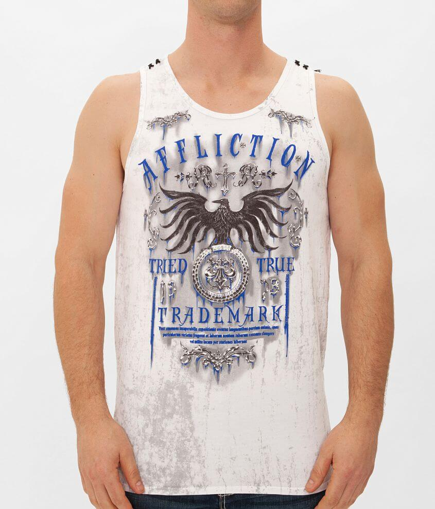 Affliction Tried Tank Top front view