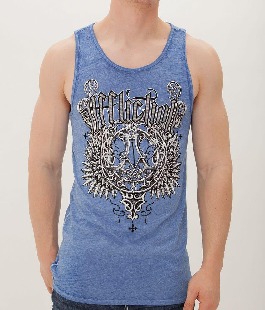 Affliction Deluxe Tank Top front view