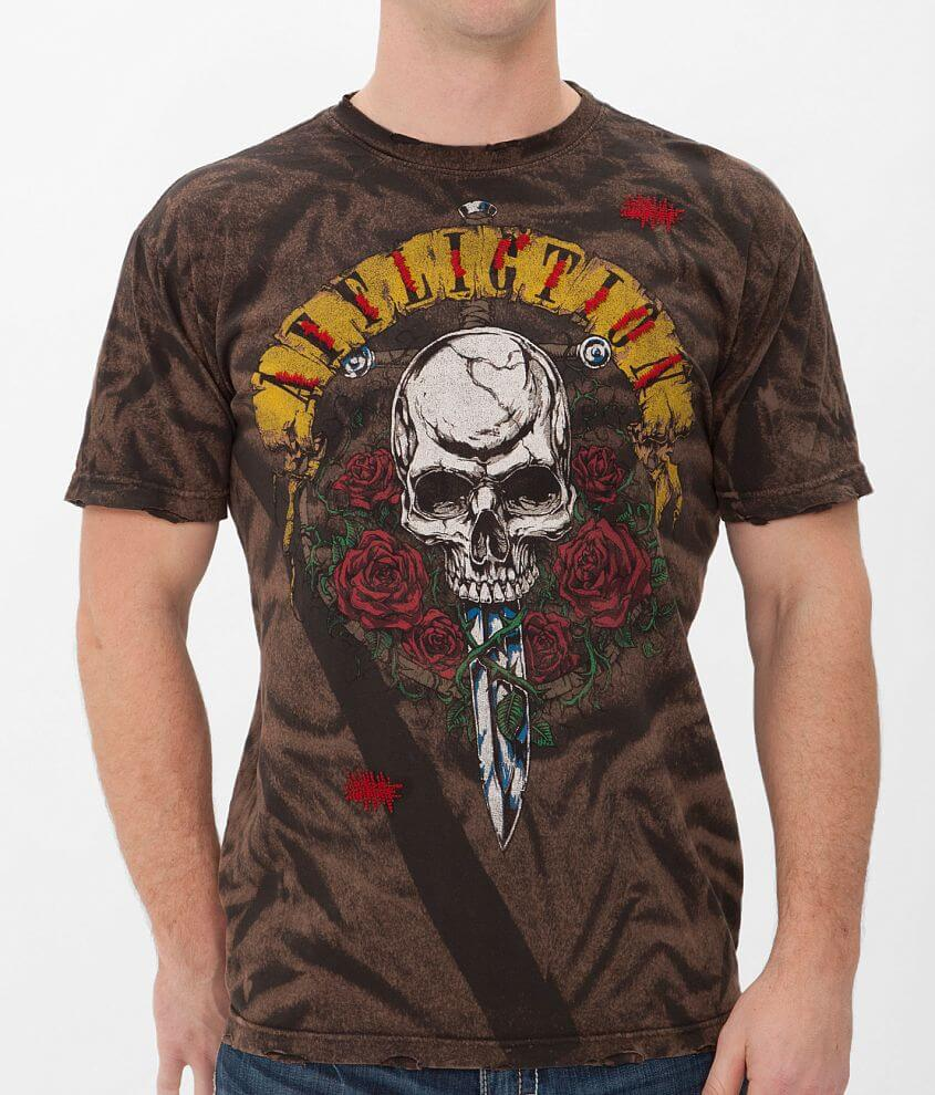Affliction American Metal Nightrain T-Shirt front view