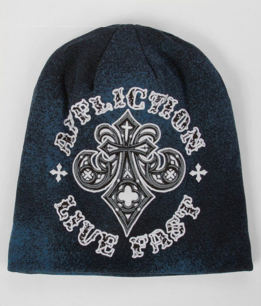 Affliction Royale Reversible Beanie front view