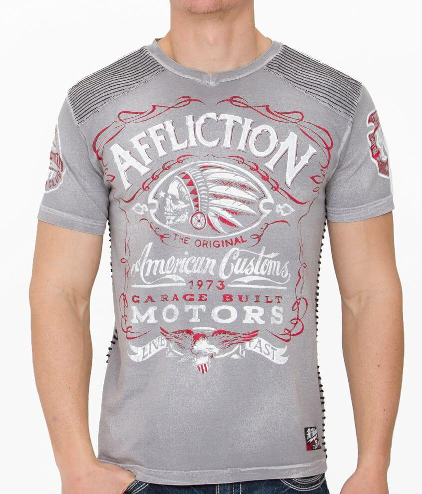 Affliction American Customs Prohibition T-Shirt front view