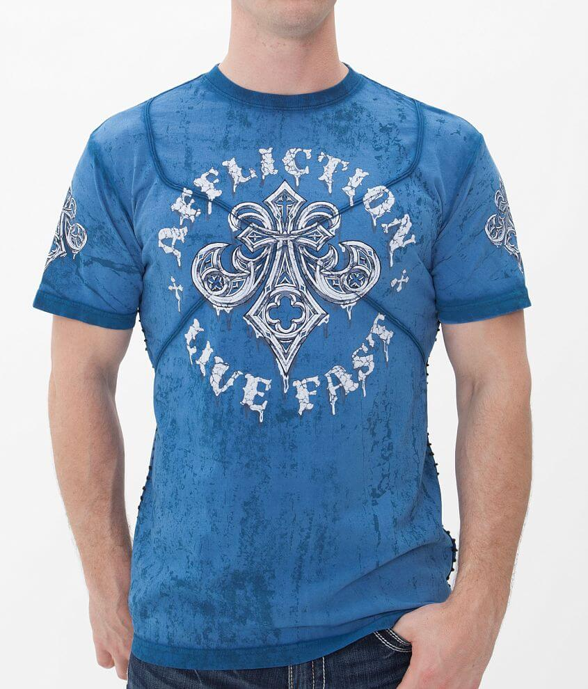 Affliction Royale Rust T-Shirt front view