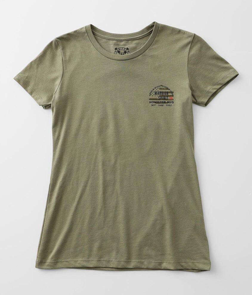 Howitzer Warrior Code T-Shirt front view