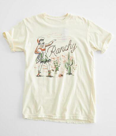 American Highway Ranchy Cowgirl T-Shirt