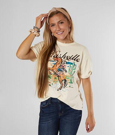 American Highway Nashville Pin Up Girl T-Shirt