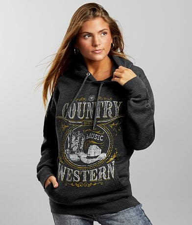 American Highway Country Music Hooded Sweatshirt