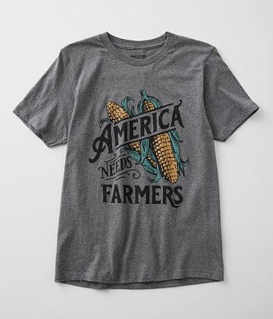 American Highway America Needs A Farmer T-Shirt