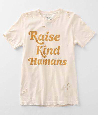 American Highway Raise Kind Humans T-Shirt