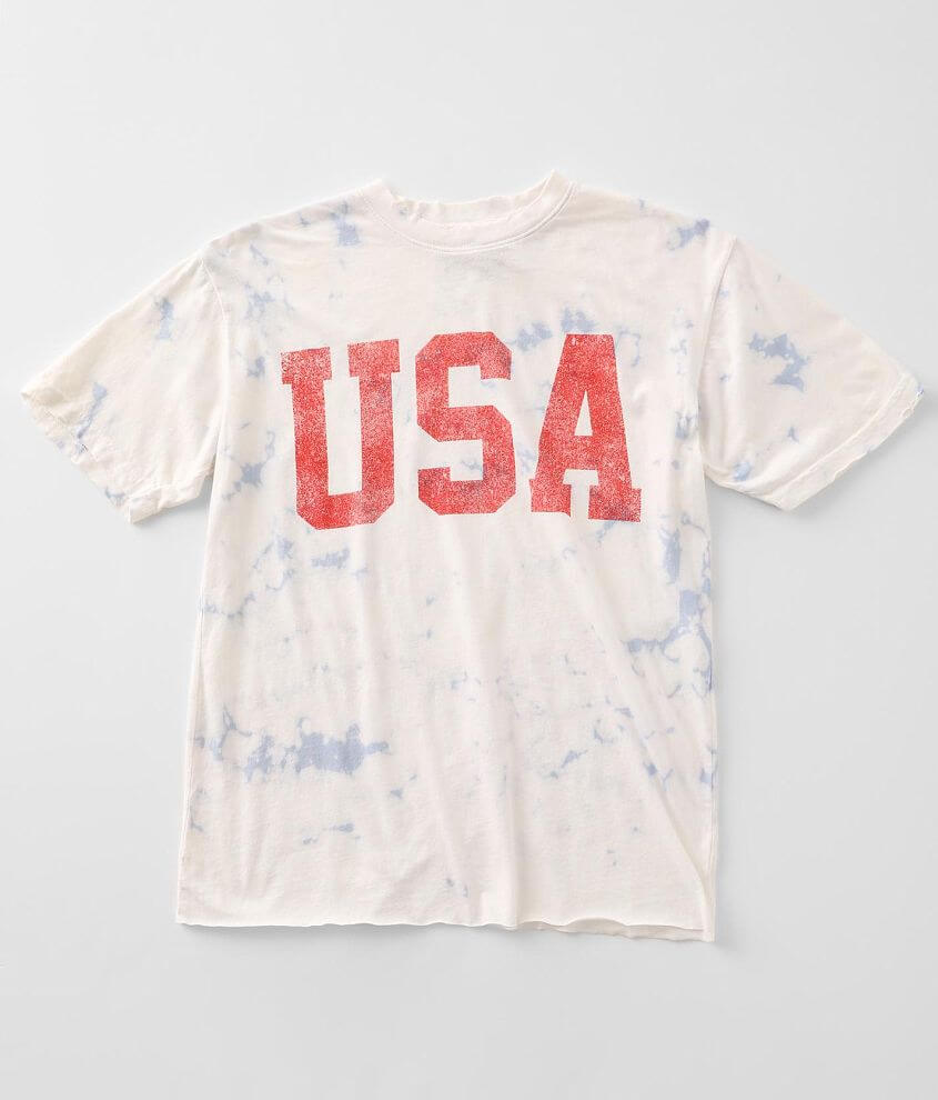 American Highway USA T-Shirt front view