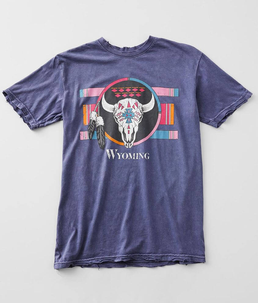 American Highway Wyoming Pride T-Shirt front view