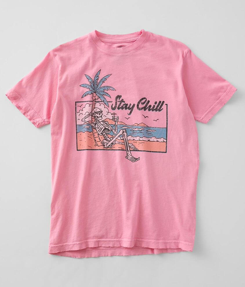 American Highway Stay Chill T-Shirt front view