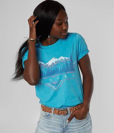 American Highway Alaska Mountain T-Shirt