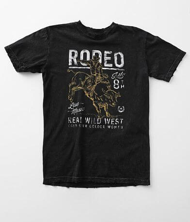 American Highway Wild West Rodeo T-Shirt