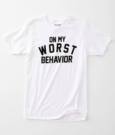 American Highway On My Worst Behavior T-Shirt