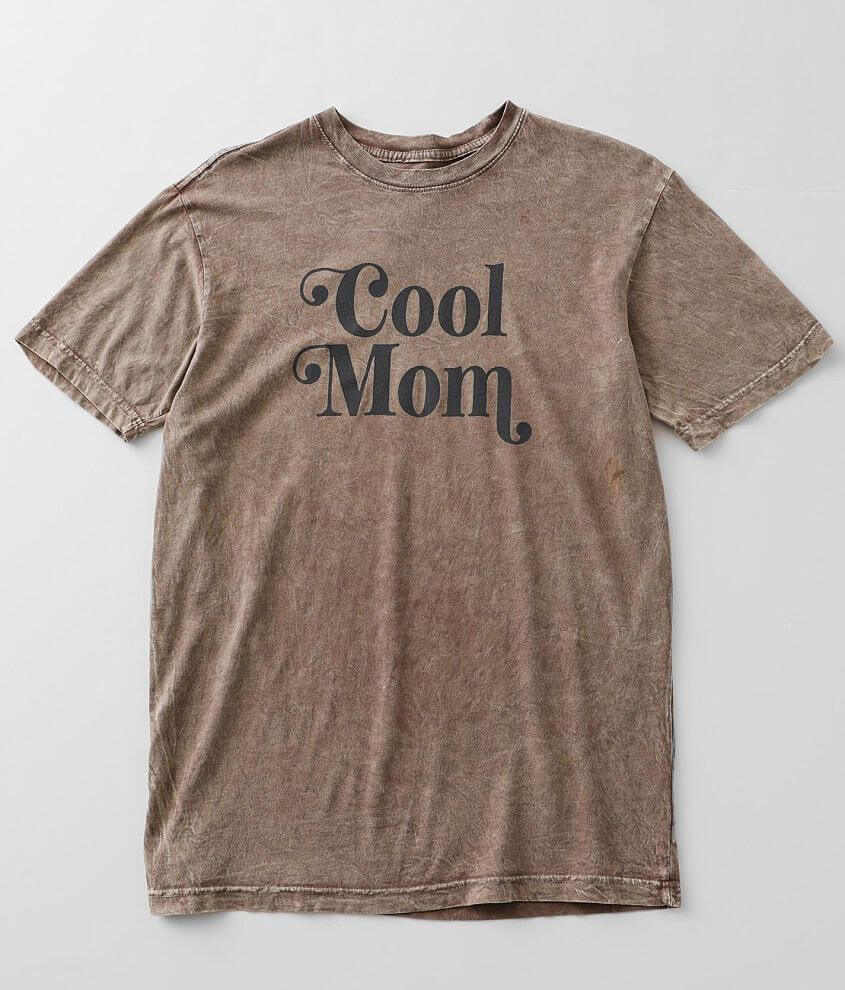 American Highway Cool Mom T-Shirt front view